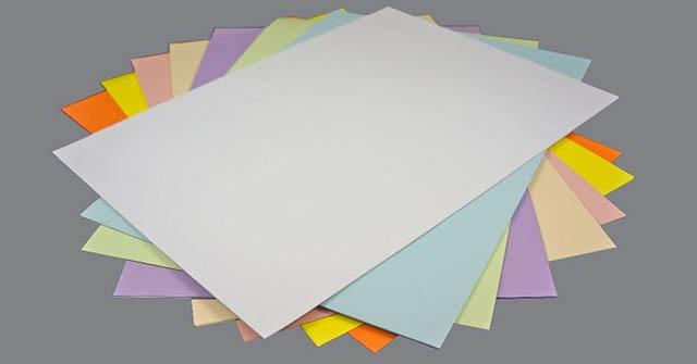 một số loại giấy
