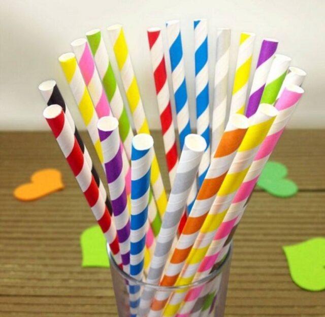 ống hút giấy - ống hút thân thiện môi trường