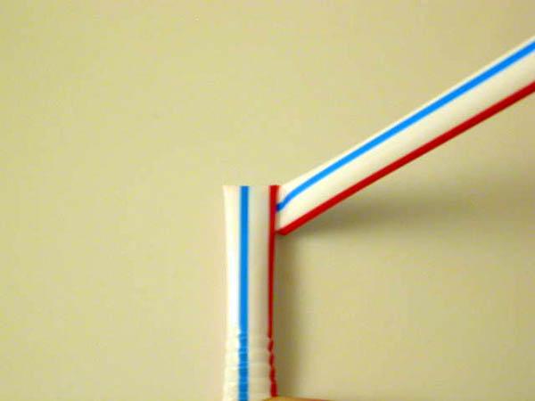 cách gấp ngôi sao bằng ống hút