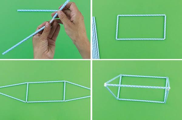 hướng dẫn cách làm đồ chơi bằng ống hút