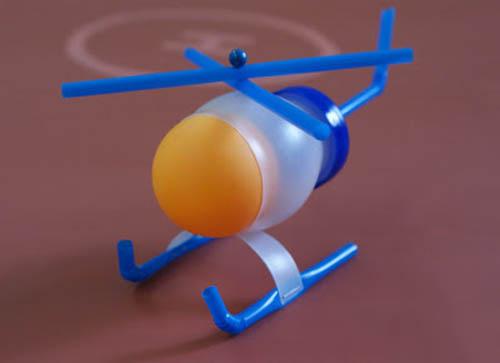 hướng dẫn làm mô hình máy bay bằng ống hút