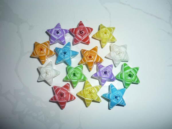 hình ngôi sao ống hút