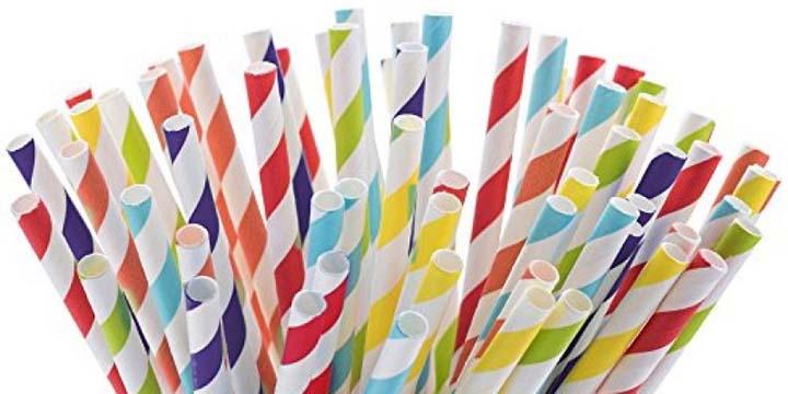 ống hút giấy kém chất lượng