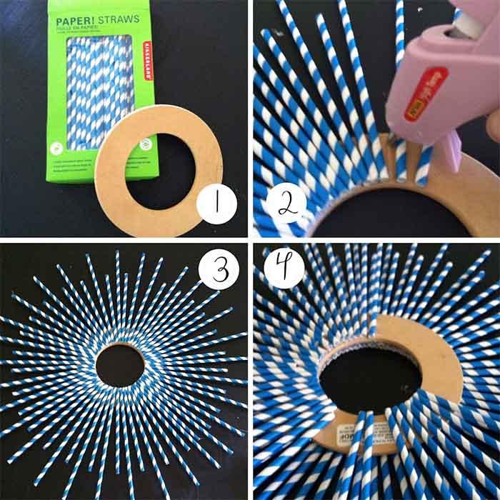 Những ý tưởng sáng tạo với ống hút cực hay